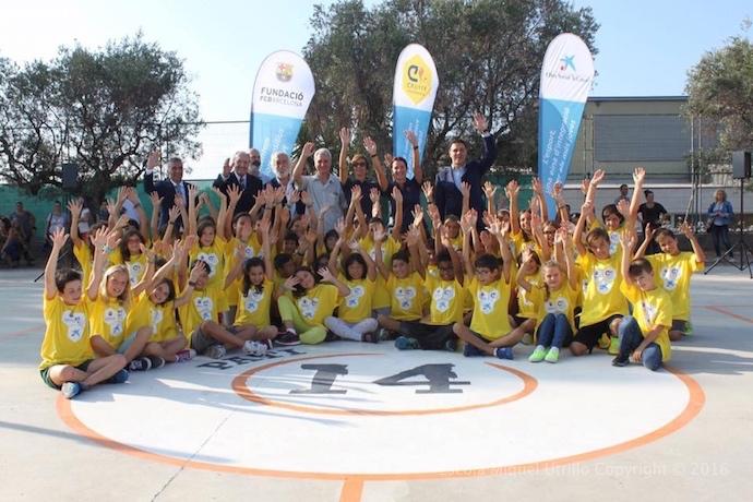L'Escola Miquel Utrillo ha inaugurat el projecte Pati 14